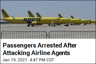 Airline Says Passengers Attacked Its Agents