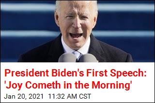 President Biden Gives His First Speech