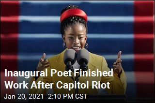 Youngest-Ever Inaugural Poet Calls for Unity