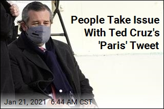People Take Issue With Ted Cruz's 'Paris' Tweet