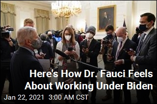 Here's How Dr. Fauci Feels About Working Under Biden