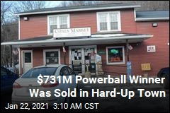 Powerball Winner Was Sold in Struggling Mining Town