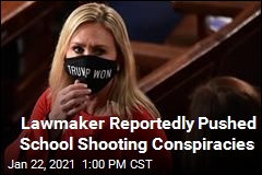 Lawmaker Reportedly Pushed School Shooting Conspiracies