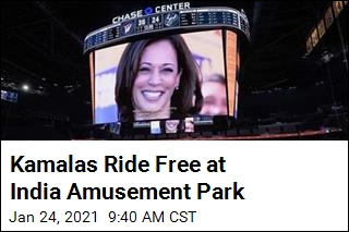 Amusement Park Gives All Named Kamala Free Entry