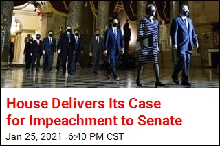 Senate Receives Impeachment Case From House Managers