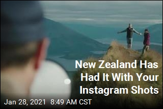 New Zealand Is Bored With Your Instagram Shots