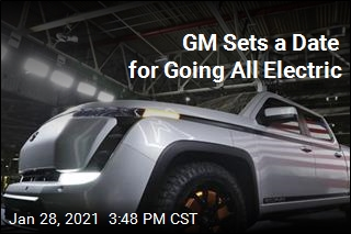 GM Sets a Date for Going All Electric