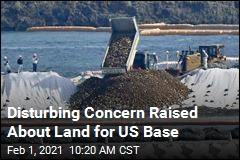 Disturbing Concern Raised About Land for US Base