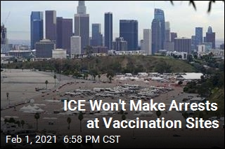 ICE Promises No Arrests at Vaccination Sites
