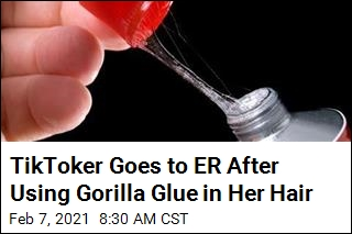 TikToker Uses Gorilla Glue to Style Her Hair, Regrets It