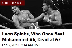 Leon Spinks, Renowned For Win Over Muhammed Ali, Dies at 67