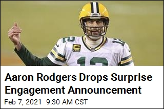 Aaron Rodgers Drops Surprise Engagement Announcement