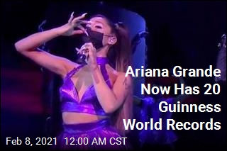 Ariana Grande Earns Yet Another World Record