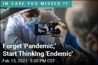 Forget 'Pandemic,' Start Thinking 'Endemic'