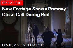 New Footage Shows Romney Close Call During Riot
