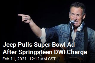 Jeep Pulls Commercial After Springsteen DWI Charge