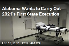 Alabama Seeks to Carry Out Year's First State-Level Execution