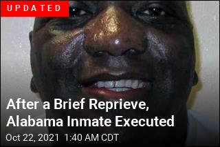 Alabama Execution Cancelled at Last Minute