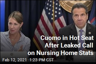 Cuomo Aide in Leaked Call: 'We Froze' on Nursing Home Numbers