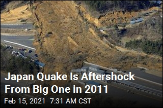 Earthquake Called Aftershock of One From a Decade Ago