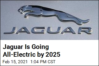 Jaguar Is Going All-Electric by 2025