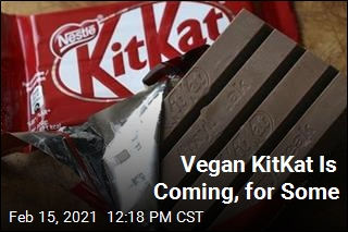 Vegan KitKat Is Coming, for Some