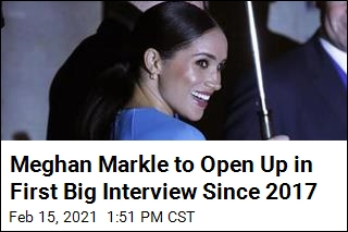 Meghan Markle to Open Up in First Big Interview Since 2017