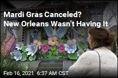 With Mardi Gras Parades Nixed, a New Orleans Fix