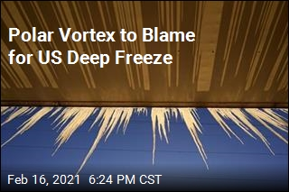 Polar Vortex to Blame for US Deep Freeze