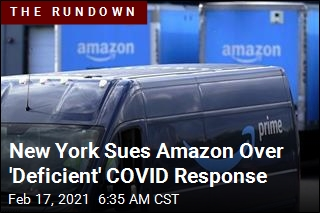 New York Sues Amazon Over Alleged COVID Shortcomings