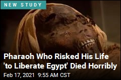 Pharaoh Who Risked His Life 'to Liberate Egypt' Died Horribly