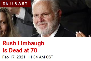 Rush Limbaugh Is Dead at 70