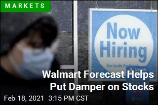 Walmart Forecast Helps Put Damper on Stocks