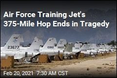 2 Dead After Air Force Training Jet Goes Down in Alabama