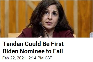 Tanden Could Be First Biden Nominee to Fail