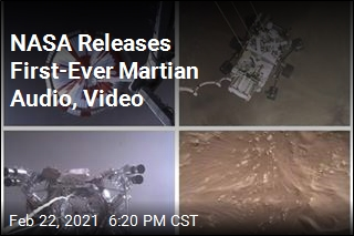 NASA Releases First-Ever Video, Audio From Mars