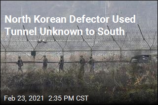 North Korean Defector Used Tunnel Unknown to South