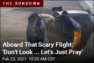 Aboard That Scary Flight: 'Don't Look ... Let's Just Pray'