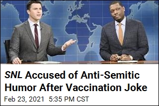 SNL Joke About Israel's Vaccination Draws Outrage