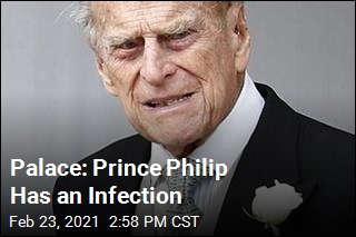 Palace: Prince Philip Has an Infection