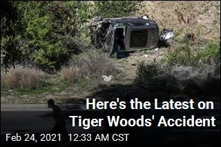 Here's the Latest on Tiger Woods' Accident