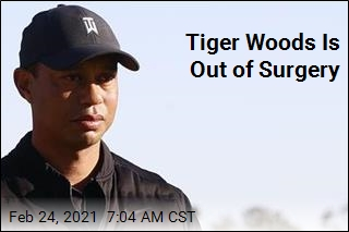 Tiger Woods Is 'Awake, Responsive'
