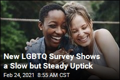 New LGBTQ Survey Shows a Slow but Steady Uptick