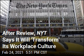 After Review, NYT Says It Will 'Transform' Its Workplace Culture