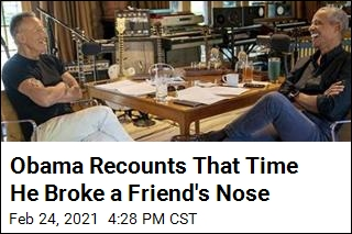 Obama Recounts That Time He Broke a Friend's Nose