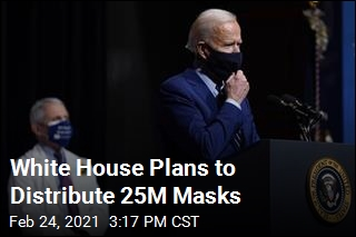 White House Plans to Distribute 25M Masks