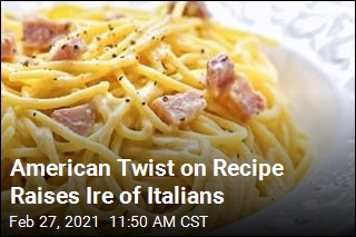 American Twist on Recipe Raises Ire of Italians