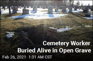 Cemetery Worker Buried Alive in Open Grave