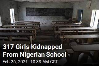317 Girls Kidnapped From Nigerian School