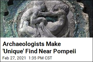 Archeologists Make 'Unique' Find Near Pompeii